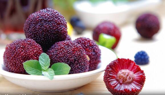吃了杨梅,才算是到了夏天 大爱这份深紫红色的酸酸甜甜